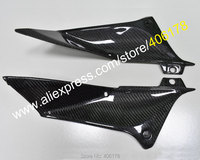Hot Sales,Carbon Fiber Head Intake Tube Duct Cover For Yamaha YZF1000 R1 2002 2003 YZF R1 02 03 Aftermarket Motorcycle Parts