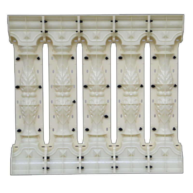 ABS plastic moulds railing mold AA13 home villa garden concrete baluster  molds for sale