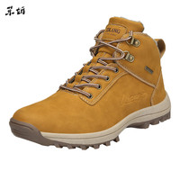 Men's Skid Resistant Waterproof Boots S Climbing Tooling Shoes Vintage Sneakers 2019 West Fashion Mesh Light Breathable Men #89