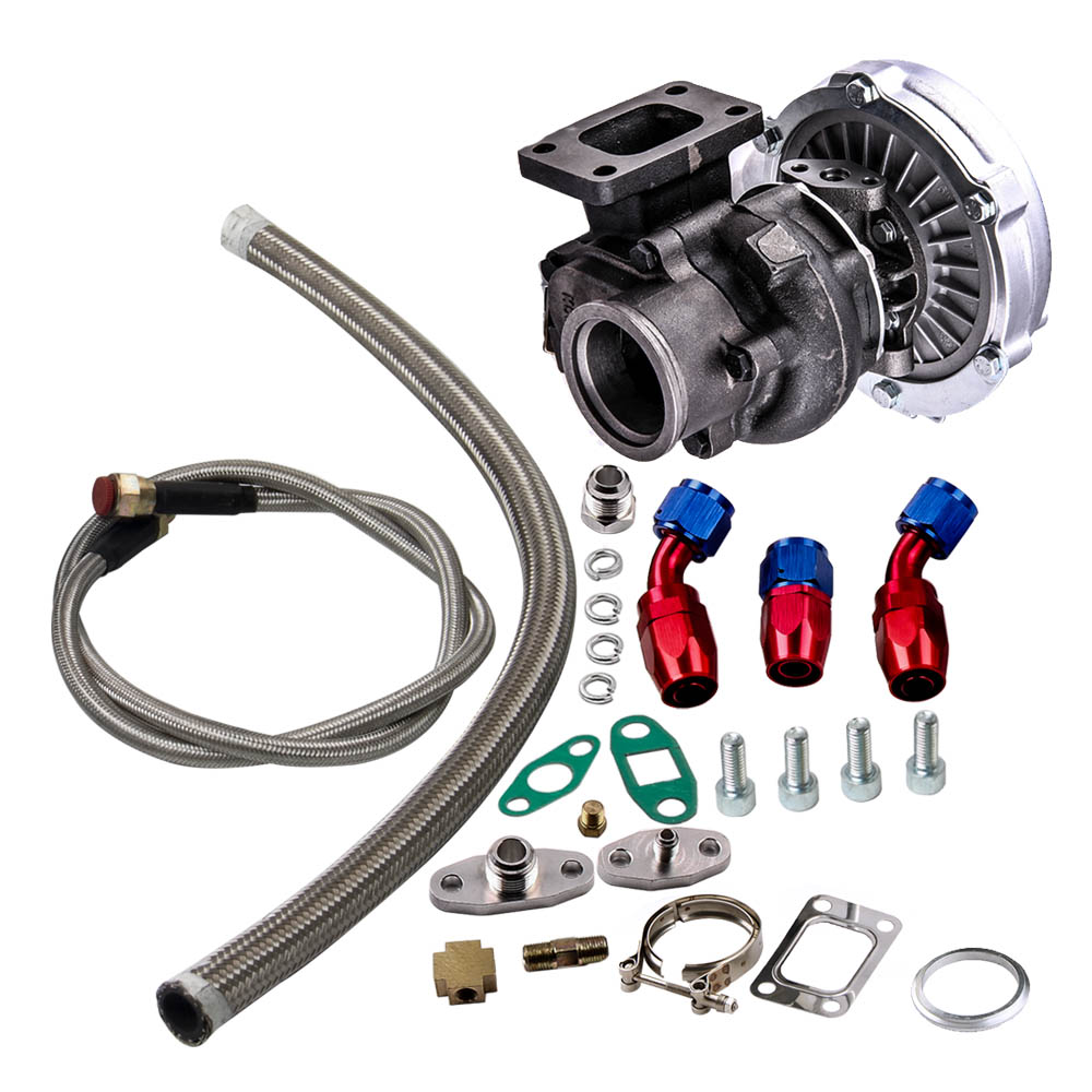 Engine Oil Feed Line 1m Auto Replacement Parts Turbo Oil Drain Return Complete Oil Line Kits Br T60 T61 T70 T04e T3 T4 T3/t4 T70 T66 To4e Turbo Discounts Sale