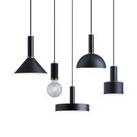 Restauracja wisiorek światła Art kuchnia sypialnia jadalnia oświetlenie led do pokoju światło nowoczesna lampa wisząca do baru kawiarnia lampa wisząca w Wiszące lampki od Lampy i oświetlenie na
