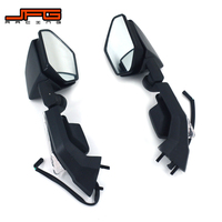 Motorcycle LED Turn Signal Rear View Rearview Side Mirrors For KAWASAKI Ninja ZX10R 2008 2009 2010 2011 ZX6R 2005 2006 2007 2008