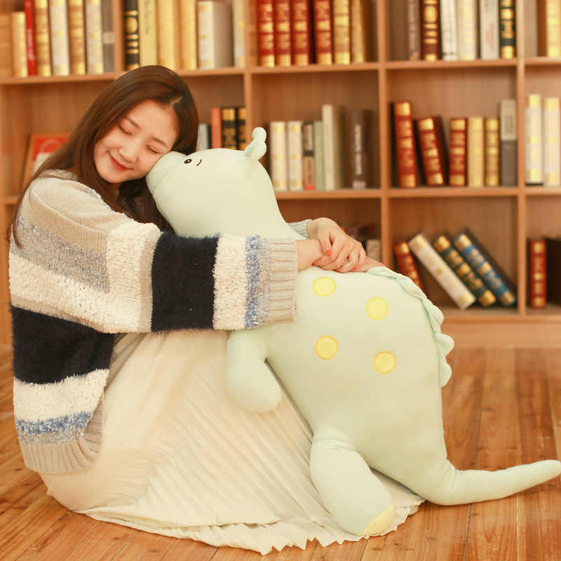 80 cm de Dinossauro Brinquedos De Pelúcia Bonito Stuffed Animal Macio Boneca para Crianças Do Bebê Dos Miúdos Dos Desenhos Animados Presente Brinquedo Clássico