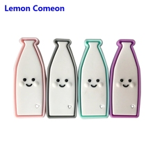 Lemon Comeon 1pc Silicone Beads Bottle Baby Nursing DIY Pacifier Chain Chewing BPA Free Teething Accessories Teether