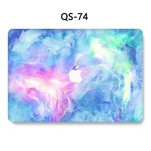 Image 4 - Чехол для ноутбука MacBook Чехол для ноутбука для MacBook Air Pro retina 11 12 13 15,4 дюймов с защитой экрана крышка клавиатуры