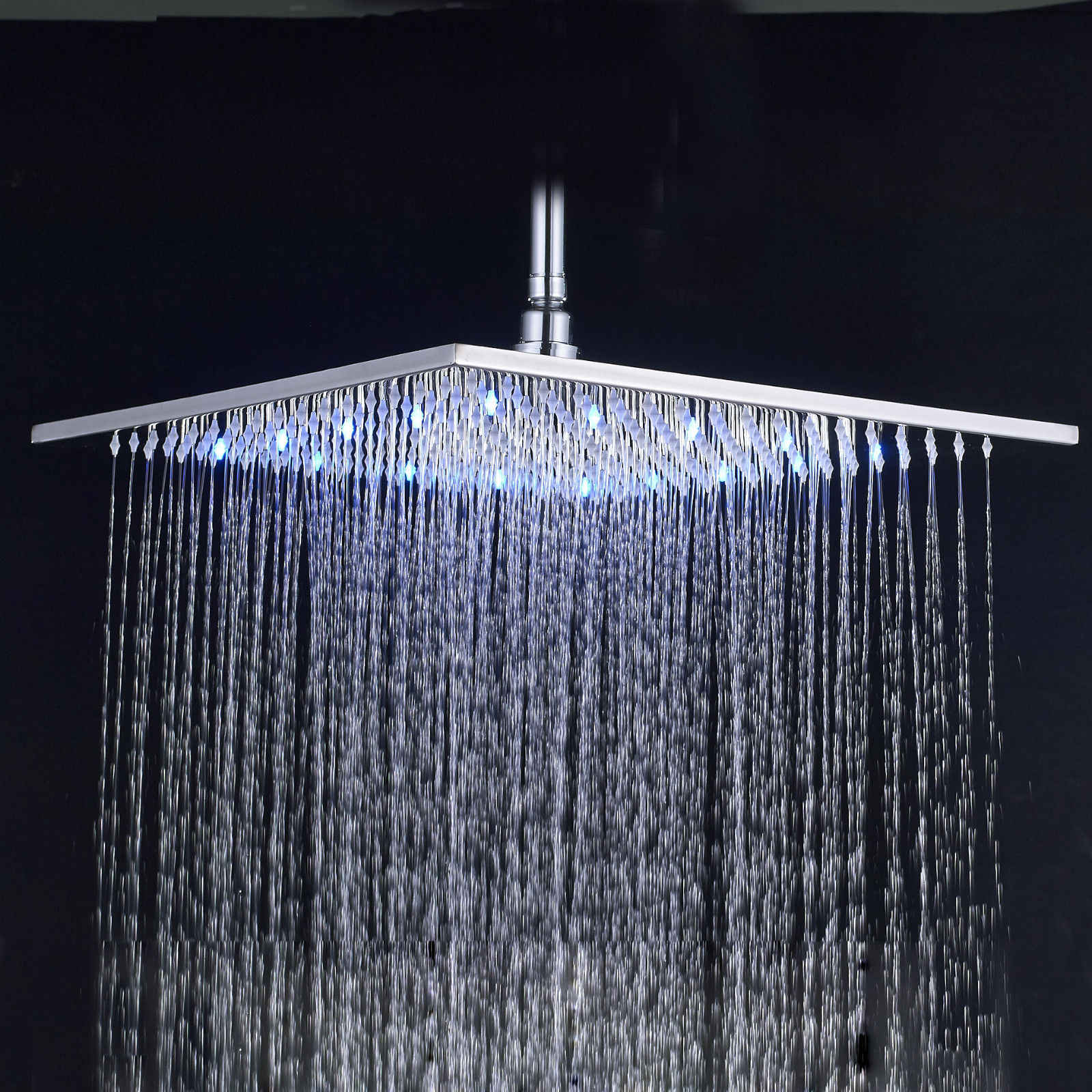 20 Inch 24 Inch Large Square Rain Showerhead Stainless Steel