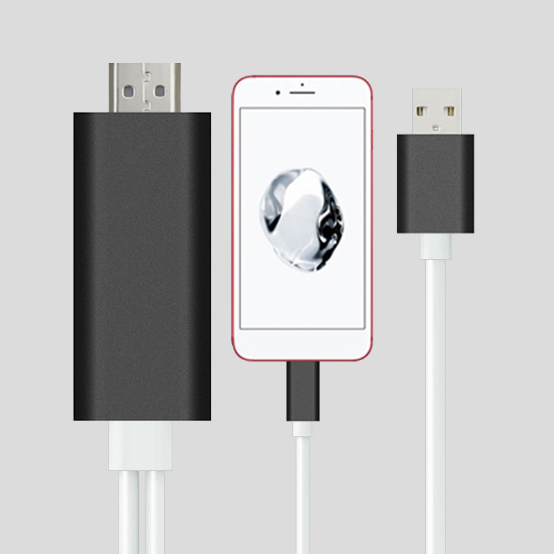 Hdmi Cable For Iphone 6s 7 8 Plus X