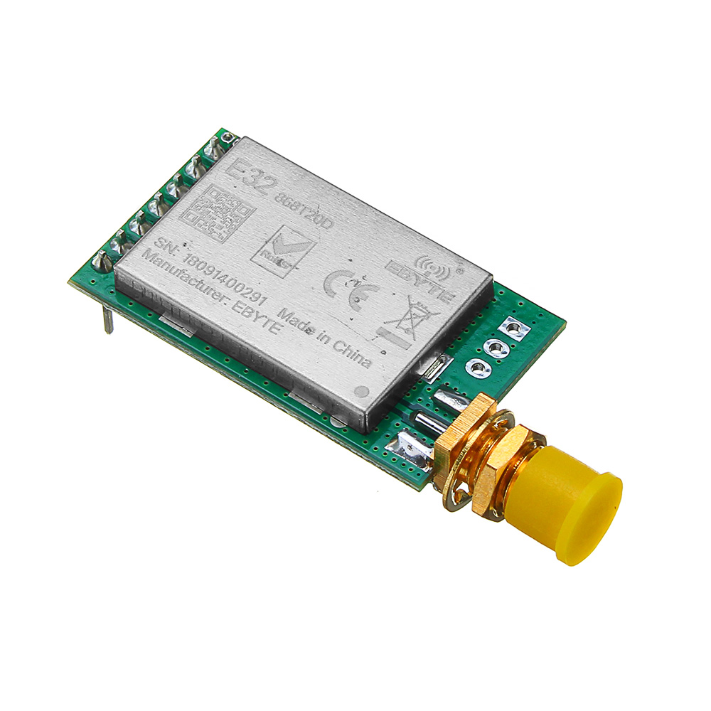 US $17 21 22% OFF|LEORY LoRa SX1278 SX1276 433MHz RF Module Transmitter  Receiver 8000M UART Long Range 433 MHz 1W Wireless rf Transceiver-in  Circuits