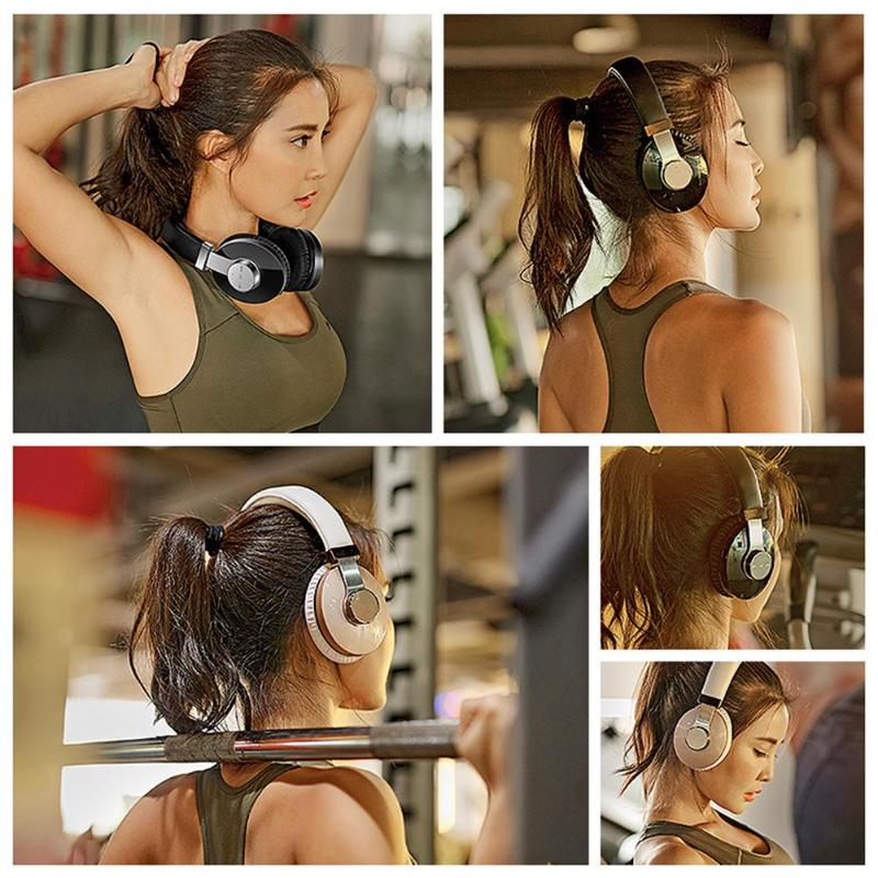 T9 CSR casque sans fil Bluetooth stéréo HiFi MP3 Bluetooth V4.2 Sport casque sans fil avec Microphone pour téléphone intelligent - 4