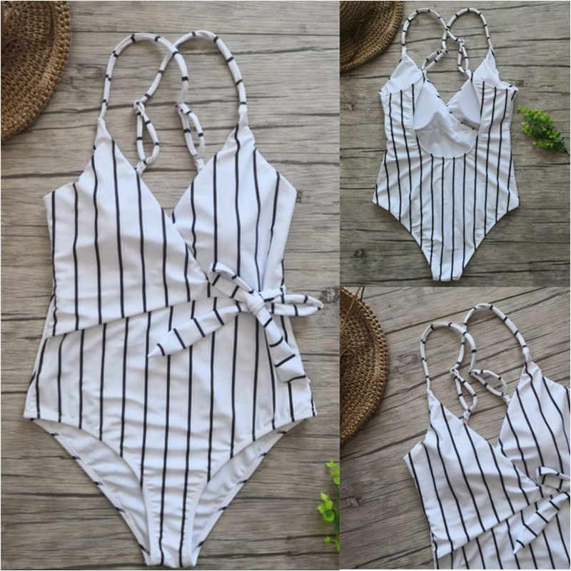 Meihuida ملابس السباحة الشاطئ النساء ملابس السباحة زي مبطن قطعة واحدة ملابس السباحة دفع ما يصل بيكيني زائد حجم ملابس السباحة S-XXL