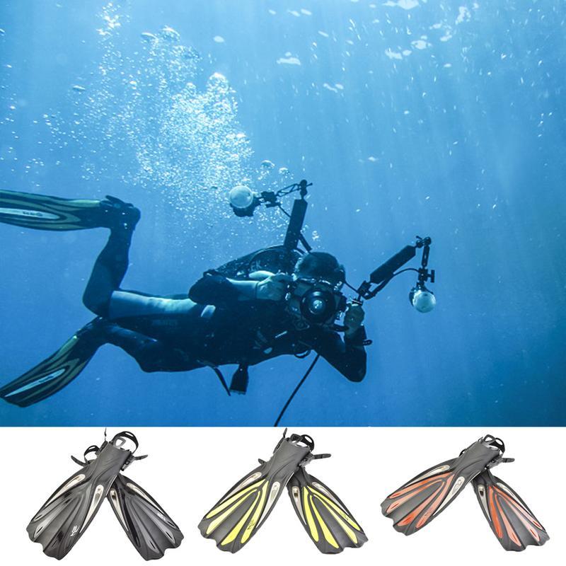 Garder la plongée FN-612 palmes longues réglables pour la plongée en apnée natation formation professionnelle