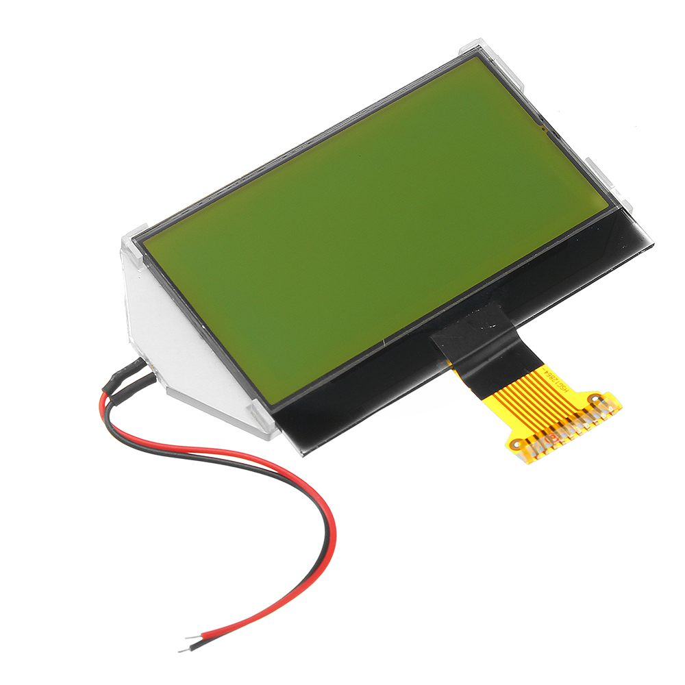 2.4 Inch 128x64 12864 Dot COG LCD Display Module With Blue Backlight