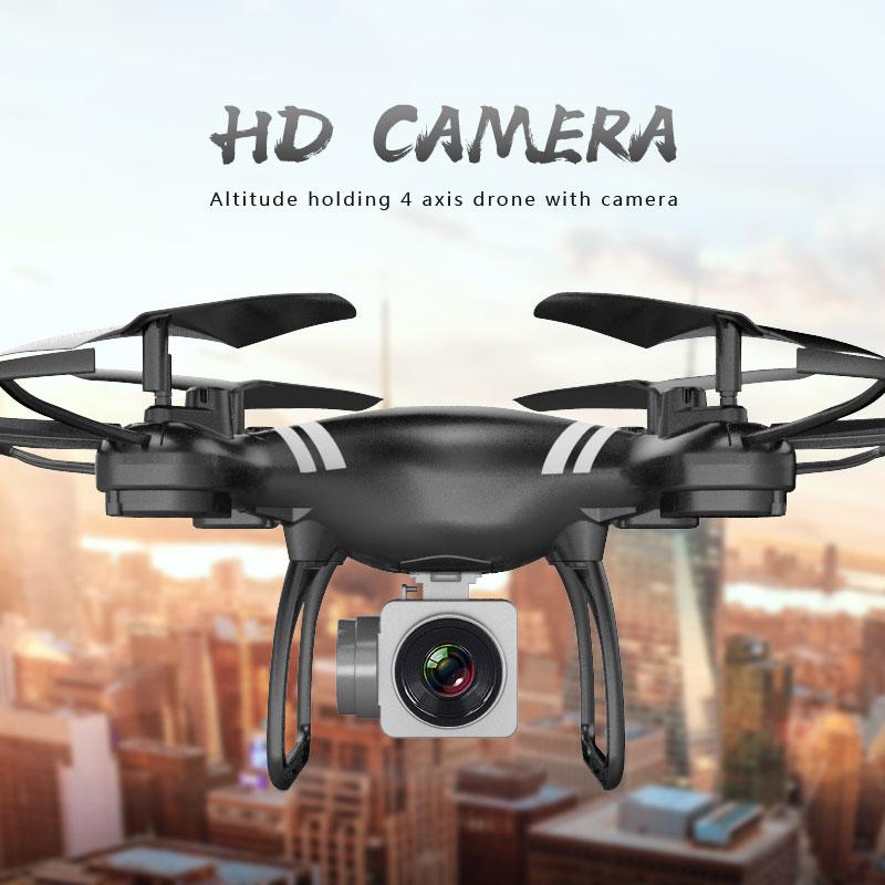 Mini KY101 drone rc 120 M 2.4G 4CH 6 Axe WIFI FPV Avec Large HD Caméra Haute Tenue Mode Pliable bras RC Quadricoptères