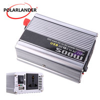 Free shipping car Power converter USB charger 500W Power Inverter DC 12V to AC 220V modified sine wave