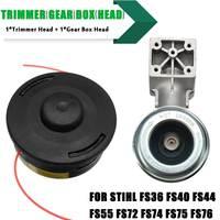 Trimmer Gear Box Head Universal Mower Accessories for Stihl FR130 FR220 FR350 FR450 FR480 FS44 FS75 FS80 FS85 FS KM