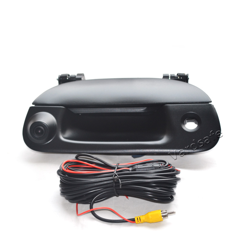 For Ford F150-F550 Black Tailgate Handle Backup Camera 1997-2007
