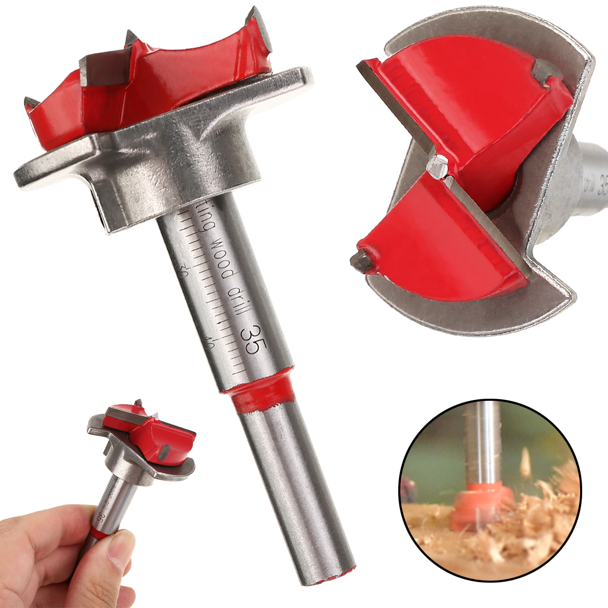 1pcs Woodworking Drill Bits Tool 35mm Hinge Cutting Machine Boring Tool Hinge Open Hole Forstner Drilling Power Tools