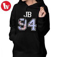 Jackson Wang Hoodie GOT7 JB 94 Hoodies Cotton Long Sleeve Hoodies Women Graphic Streetwear Sweet Oversize Blue Pullover Hoodie