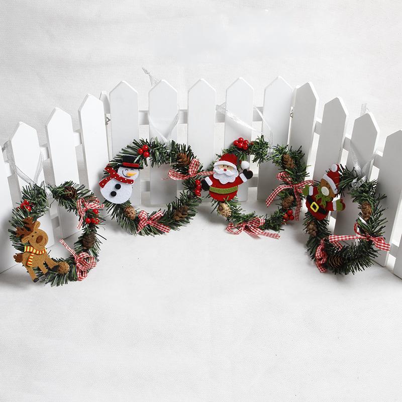 Popular Home Decor Gift Ideas For Christmas: 2018 Christmas Wreath Wood Christmas Decor For Home Santa