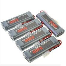 1/2/3/4/5 шт NiMH 7,2 V 5300 mAh пробка из Тамия перезаряжаемый аккумулятор серый