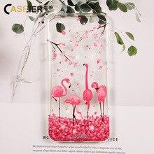 CASEIER Glitter Phone Case For iPhone 6 6s Plus  X 5S 5 Silicone Cover For iPhone X 7 8 Plus 5 5s SE Funda Capinha Capa Coque цена и фото