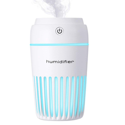 Aromatherapy Essential Oil Diffuser,300Ml Portable Usb Ultrasonic Cool Mist Humidifier Auto Shut-Off And 7 Fascinating Led Nig