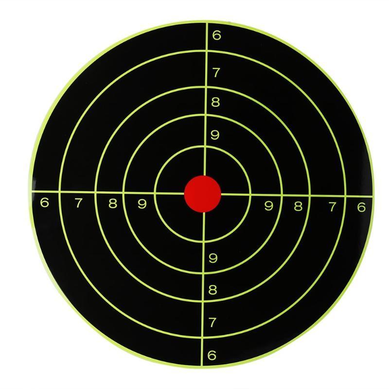 10pcs Self Adhesive Splatterburst Targets 30*30cm Sticker Reactive Shooting Targets Target Stickers Ultimate Gun Shooting