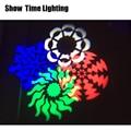 Promotie dj led 4 ogen gobo disco licht gebruik voor Home entertainment DJ Bar Club Disco goed effect 4 bloem moving head licht