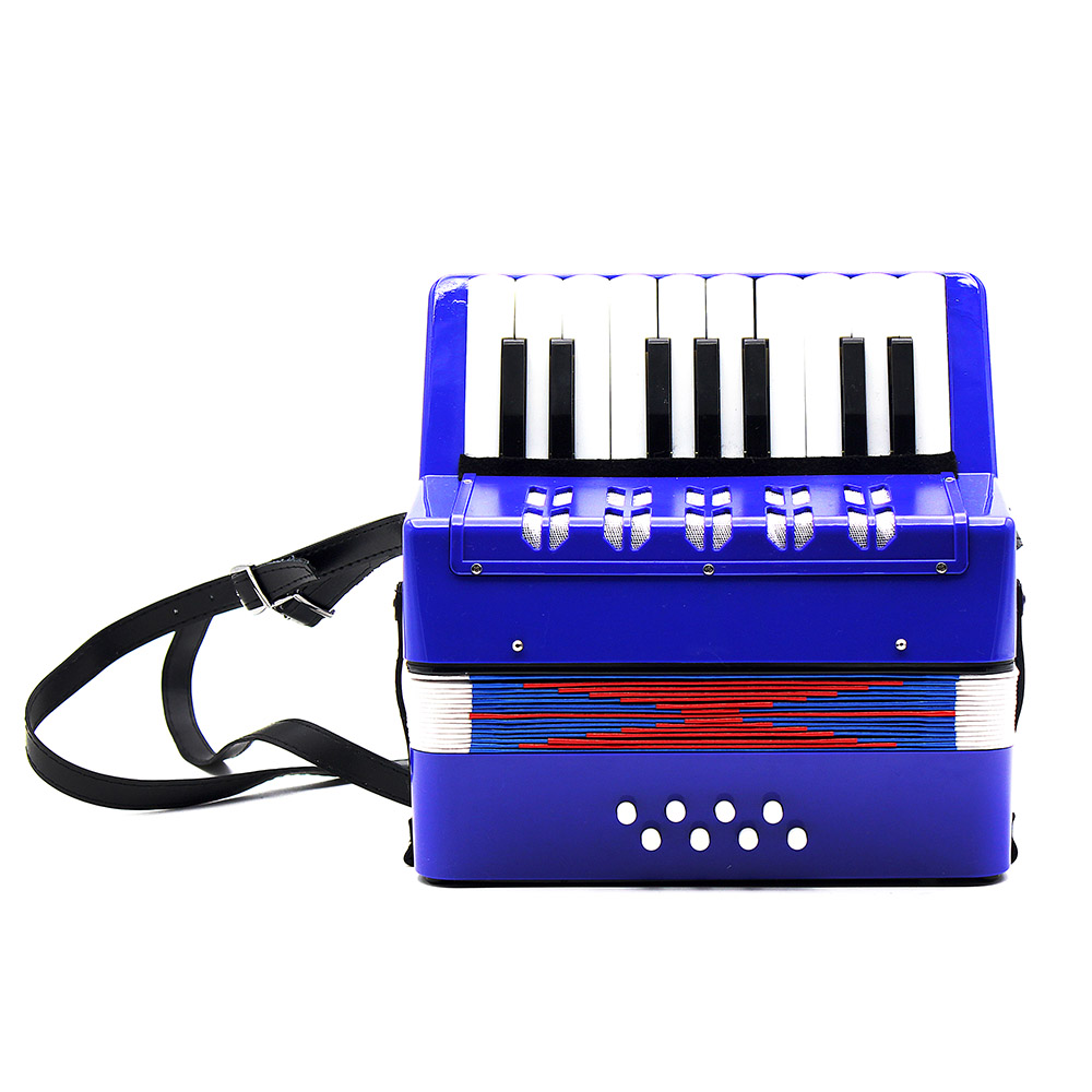 17 Key Accordion 8 Bass Mini Small Accordion Educational Musical Instrument Rhythm Band Toy for Kids Chilren-in Accordion from Sports & Entertainment    2