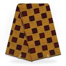 Горячий настоящий воск высокого качества горячий воск настоящий голландский Африканский вощеная ткань настоящий горячая Распродажа дизайн для женщин платье