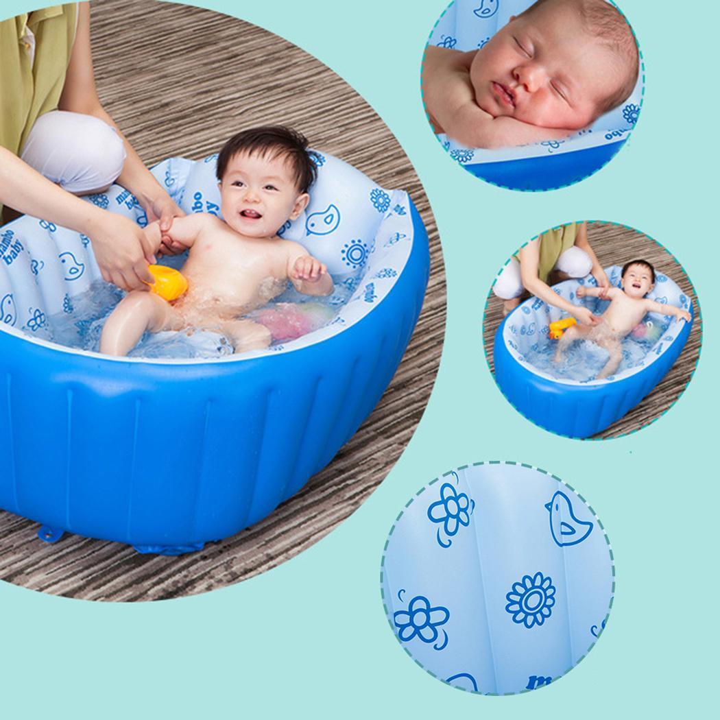 Baignoire portable gonflable de bain baignoire Enfant baignoire Coussin Chaud gagnant garder au chaud pliant baignoire portable pompe à air Piscine
