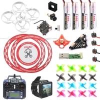 DIY Mobula 7 V3 FPV Drone with Transmitter FPV Watch V3 Frame SE0802 Motor Turbo Eos2 Camera VTX Arch Apron for Mobula7 75mm
