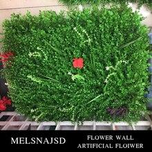 MELSNAJSD 1 piece 60x 40 cm artificial landscape lawn simulated plant false Home Garden Decor Christmas decoration
