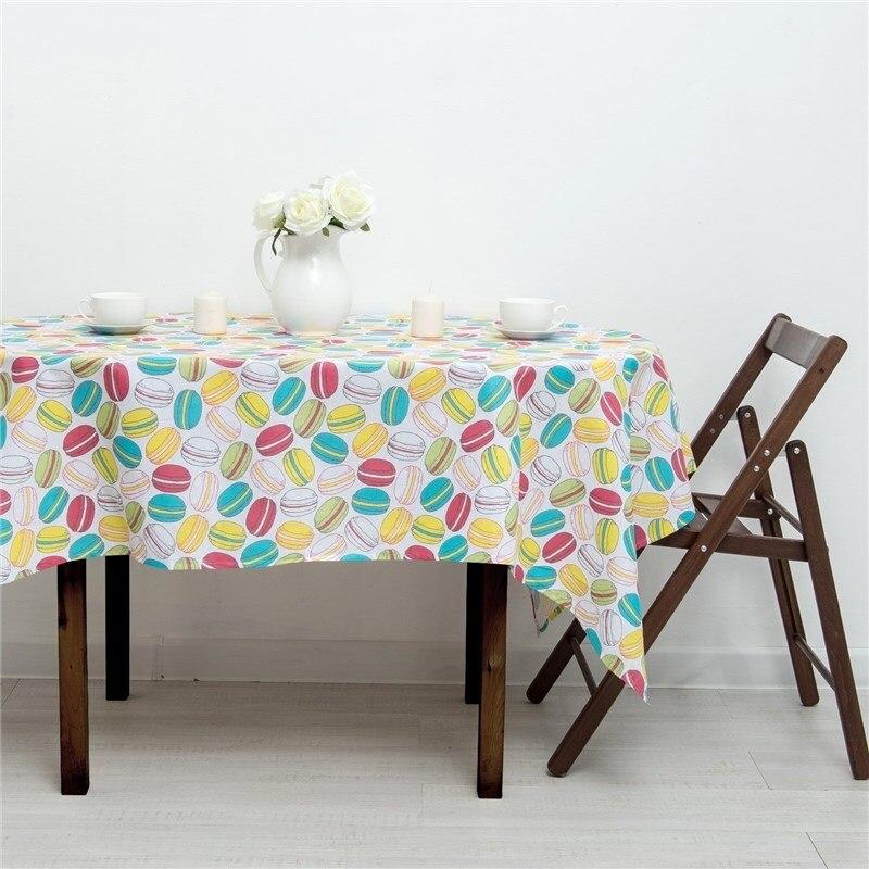 Tablecloth Ethel's Macaron 145х180 рогожка 160g/m², 100% cotton