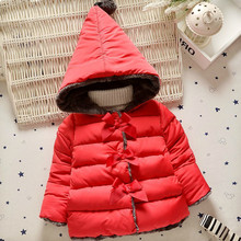 2019 Little Toddler Winter Warm Thicken Fur Hooded Girl's
