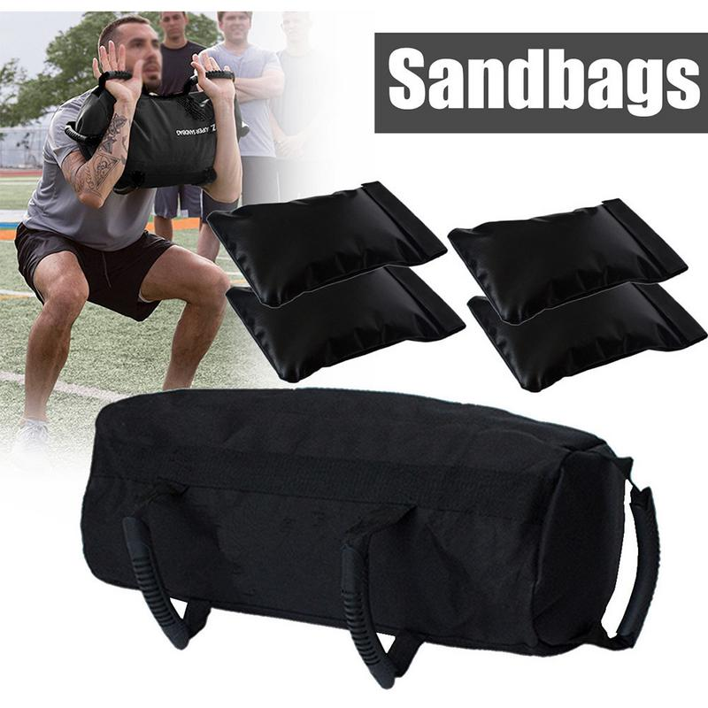 5 Pcs/set Weightlifting Sandbag Strength Bag Fitness Supplies Sand Bag Exercise Power Type Weightlifting Heavy Muscle Training Preventing Hairs From Graying And Helpful To Retain Complexion Fitness & Body Building
