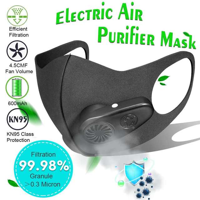 n95 mask rechargable