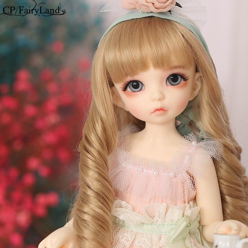 BJD Dolls Littlefee Ante 1/6 Yosd Pink Rose Golden Curly Hair Lolita Fullset Option Girl Toys For Girls Best Gift Fairyland FL
