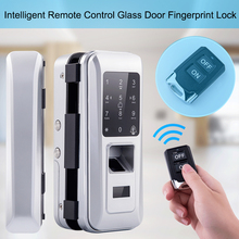 Electronic Digital Door Lock Glass Door Lock Electric With Touch Keypad Smart Card Remote Control Office Home Fingerprint Lock