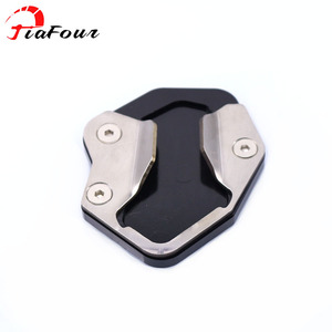 For TRIUMPH TIGER 800 XR TIGER 800 XCA TIGER 800 XRX TIGER 800 XRT 2017-2018 kickstand sidestand stand extension enlarger pad(China)