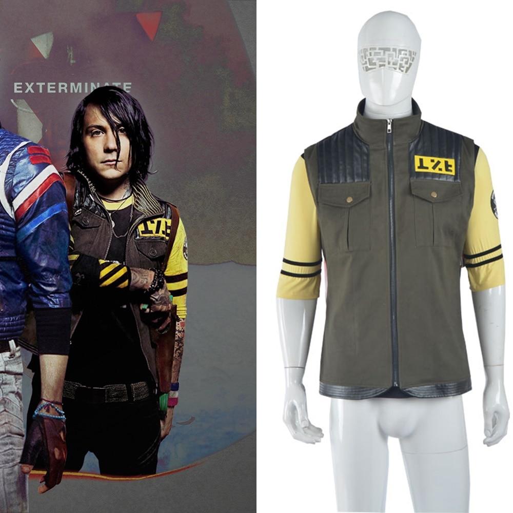 My Chemical Romance Party Poison Coat Jacket Frank Iero Cosplay Costume