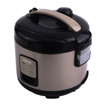 KONKA 1L Non-Stick Electric Pressure Cooker for Rice Cooking Machine With Detachable Exhaust Valve