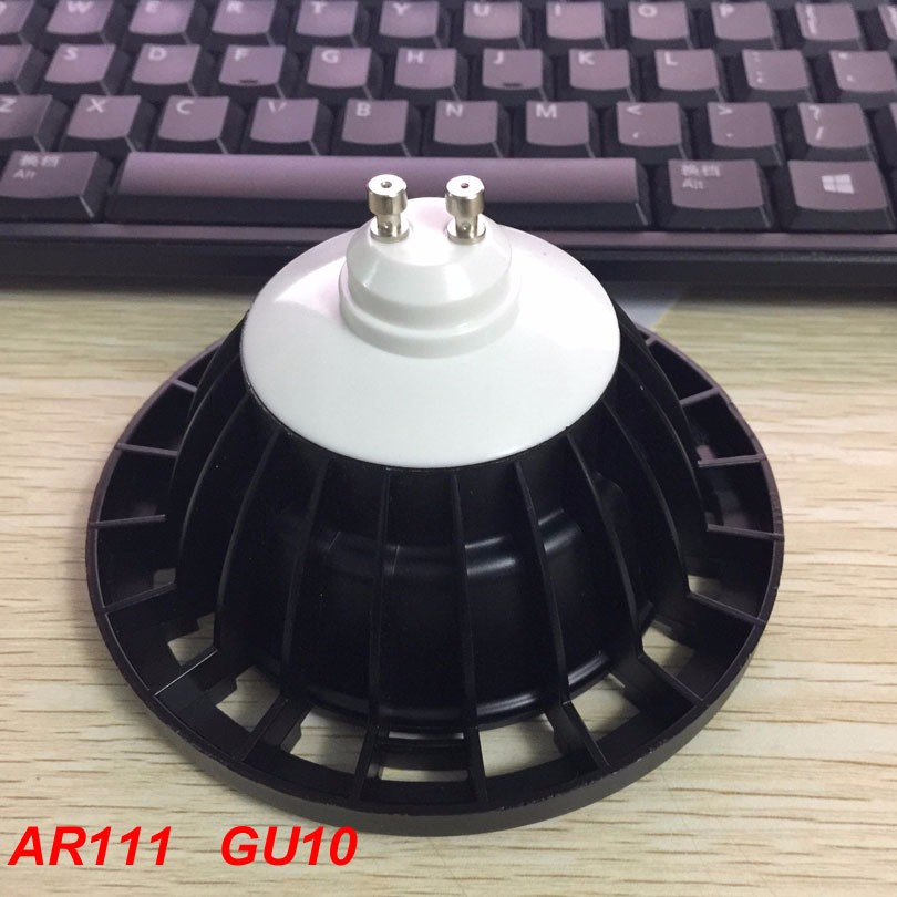 10x High Power LED Spot Light AR111 QR111 G53 GU10 AC110V 220V DC12V Dimmable LED Ceiling
