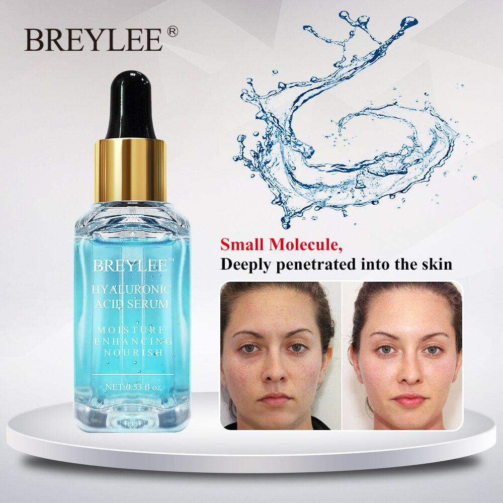 Breylee Hyaluronic Acid Serum Moisturizing Facial Essence Face Skin Care Nourishing Repairing Whitening Cream Ageless Beauty