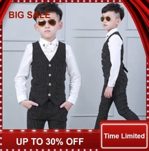 Kid Baby Boy Blazers Jacket Suit Formal Clothing Outerwear Party Wedding Casual Costume Flower Boy Child fashion kids baby boy blazers suit formal black white clothing prom party wedding casual costume flower boy outfit the suits
