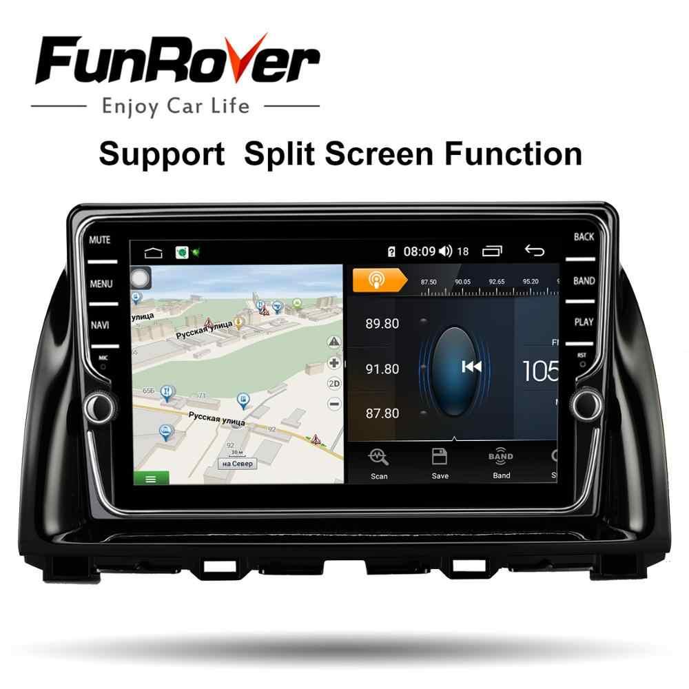 Funrover 8 ядро Штатное Головное устройство Mazda cx-5 cx5 cx 5 GPS Android aвтомагнитола магнит ола 2 din автомагнитолы 2DIN Андроид для Мазда cx-5 cx5 cx 5 штатная магнитол а автомобильная мультимедиа DSP LTE