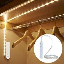 Беспроводной ночник EeeToo с пассивным ИК датчиком движения, водонепроницаемый настенный светильник с USB для кабинета, лестницы, индукционный светодиодный светильник для детей