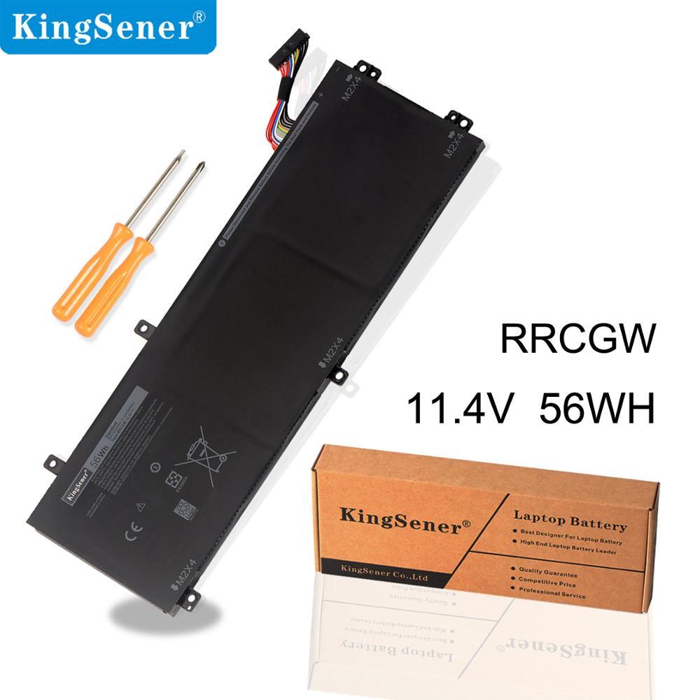 KingSener 15 RRCGW New Bateria Do Portátil Para Dell XPS 9550 Precisão 5510 Série M7R96 62MJV 11.4 V 56WH Frete 2 anos de Garantia