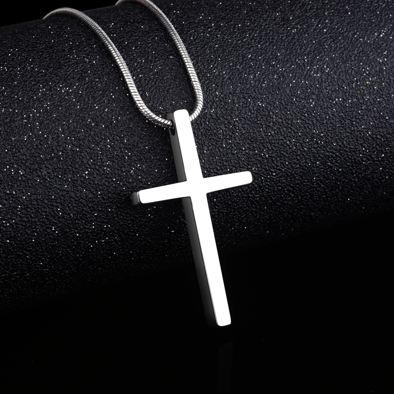 2019 New Arrival Classic Design Cross Tungsten Pendants Necklace with Snake Stainless Steel Chain 45cm/50cm/55cm for Man Woman2019 New Arrival Classic Design Cross Tungsten Pendants Necklace with Snake Stainless Steel Chain 45cm/50cm/55cm for Man Woman