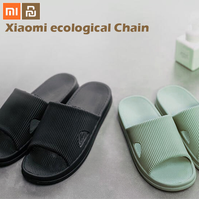 Xiaomi mijia Slippers Soft Ladies Man Kids Bathing Sandals Children Casual Shoes Non-slip Home Shower Slippers(China)